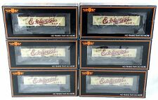 HO Scale 6-Car R-40-2 Reefer Set - Edelweiss Beer - MTH #80-90023