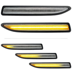 WEISSE dynamische LED Seitenblinker Ford Mondeo IV 4 BA7