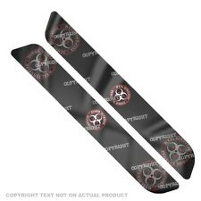 Saddlebag Reflector Decals For 93-13  Harley - ZOMBIE OUTBREAK RW - 040