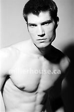 Lenox Fontaine Original B&W 35mm Film Negative Male Model Gay Interest Photo #16