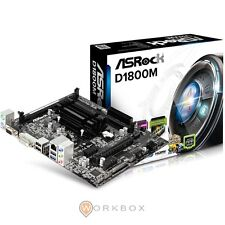 SCHEDA MADRE ASRock D1800M M-ATX DDR3 SATA2 USB3.0 DUAL-CORE J1800 ALL-IN-ONE