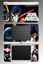 Star Wars Retro Poster Video Game Vinyl Decal Skin 9 for Nintendo DSi XL