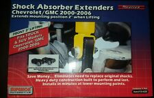 """Front Shock Extender For 2-4"""" Lift   GMC Sierra Chevy Silverado 1500 99-07 4WD"""