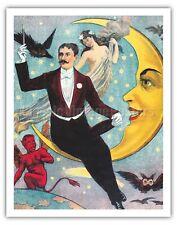 Celestial Magician - 1800's Vintage Magic Poster Art Print