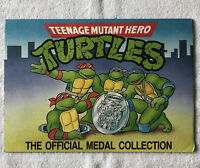 Vintage 1990 Teenage Mutant Ninja Turtle Official Coin Medal Collection Complete