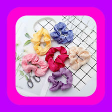 NYLON HAIR Scrunchies Elastic Hair Bands Scrunchy Bobbles Hair Ropes Rings