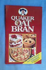 QUAKER OAT BRAN Cookbook Recipe Book Paperback Can Help Reduce Cholesterol 1989