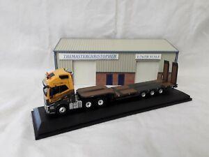 Oxford Diecast/Modern 1:76th Truck Volvo FH4 Low Loader G F Job 76VOL4009