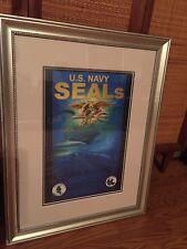 Navy Seals Art Work - Artist Pete Carola USN SEAL - 16 X 30 - Very Cool !