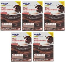 30 Bottles - Equate Dark Chocolate Meal Replacement Shakes, Weight Loss 11 Oz