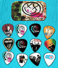 BLINK 182 Guitar Pick Tin Includes Set of 12 Guitar Picks