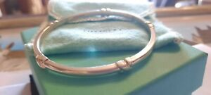 Tiffany & Co Kiss Silver Bangle Size Small Lovely Condition