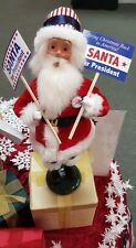 Byers Choice Santa 4 President Claus Rare Show Exclusive Democratic Republican