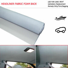 Car Headliner Repair Foam Backed Replacement Upholstery Roof Liner 90