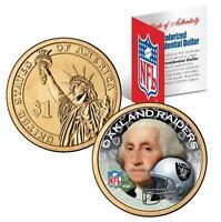 OAKLAND RAIDERS NFL US Mint PRESIDENTIAL Dollar Coin