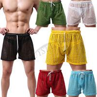 Men's Shorts Swimwear Trunks Swim Beach Loose Pants Sexy Sports Boxers Underwear