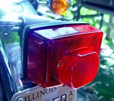 Norton, Triumph T140 Tiger, Bonneville, T150, T160, Tail Lamp Lens 99-1257, F/SH