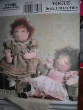 """18""""  Vogue doll collection pattern"""