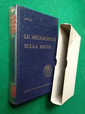 Lucius APULEIO - LE METAMORFOSI SULLA MAGIA , 1a Ed.De Agostini (1964)