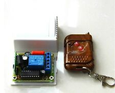 220V AC 10A 1-Kanal Funk-Fernbedienung System Transceiver Sender Empfänger Schal