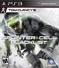 Tom Clancy's Splinter Cell: Blacklist  (Playstation 3, 2013)
