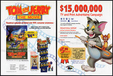 TOM and JERRY:  The MOVIE__Original 1993 Trade Print Ad promo / advertisement