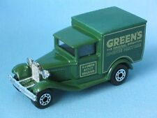 Matchbox MB-38 Ford Model A Van Greens Cake Mix Delivery Truck Toy