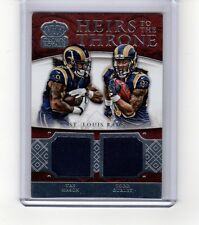 TODD GURLEY/ MASON 2015 Crown Royale HEIRS TO THE THRONE DUAL MATERIALS (54/99)