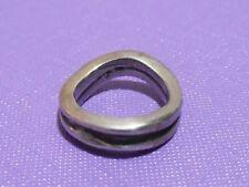 Antique silver sterling ring handmade Ethnic 5.5 original jewelry Israel 925