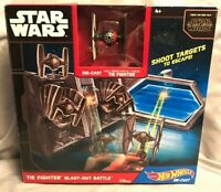 Star Wars Force Awakens The Fighter Blast Out Battle Hot Wheels Die Cast Playset