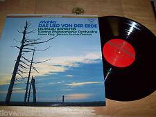 """The SUPER ANALOGUE Disc JAPAN 12"""" LP Mahler Das Lied Von Der Erde Bernstein MINT"""