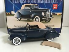 New ListingFranklin Mint Worlds Fair 1939 Ford Convertible Deluxe Coupe 1:24 w/box Gorgeous