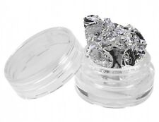 2 Pots feuille Argent Nail Art déco ongles manucure gel uv french or
