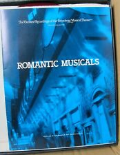 Franklin Mint Broadway Collection Romantic Musicals