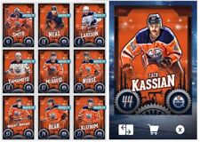 TEAM PACK EDMONTON OILERS-10 CARD BASE SET-TOPPS SKATE 20 DIGITAL