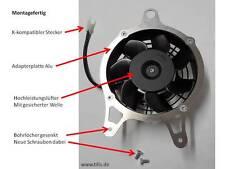 Alto rendimiento ventiladores k75 k100 k1100 radiador ventiladores ventilador