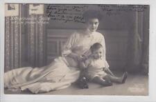 AK Preussen, Kronprinzessin Cecilie mit Prinzen Wilhelm