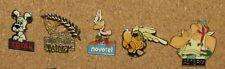 PIN LOT  5 PINS MOVIE ASTERIX LOT OBELIX IDEFIX BD CARTOON RARE