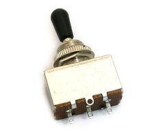 (1) Genuine Fender Squier 3-way Box Switch for Tele Custom Guitar 006-2732-000