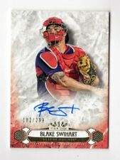 BLAKE SWIHART MLB 2016 TOPPS TIER ONE BREAKOUT AUTOGRAPHS #/299 (BOSTON RED SOX)