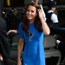 STELLA MCCARTNEY Blue Ridley Stretch Dress Size UK 10 US 6 IT 40
