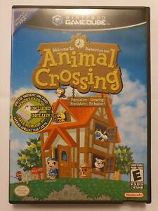 Animal Crossing - Nintendo Gamecube - NTSC USA CANADA - Complete Manual & Memory