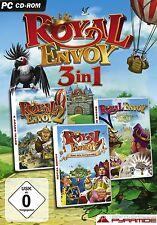 Royal Envoy 1 + 2 + 3 - PC Game - *NEU*