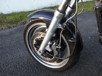 Ersatzteil für Kawasaki ZR1100 Zephyr ZRT10A: 1x front fork Gabel fourche avant