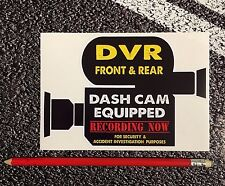 DASH CAM Equipped DVR Warning Van Taxi Truck Scania Volvo Renault Video