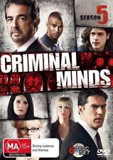 Criminal Minds: Season 5 NEW R4 DVD