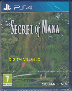 Secret of Mana PS4 Brand New Factory Sealed