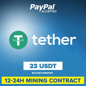 23 Tether (USDT Token) - Crypto Mining Contract - Crypto Monnaie