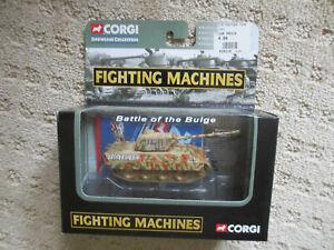 CORGI FIGHTING MACHINES PANTHER TANK BATTLE OF THE BULGE DIECAST