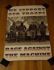 Rage Against the Machine Evil Empire Support Troops 1996 Reversible Promo Poster
